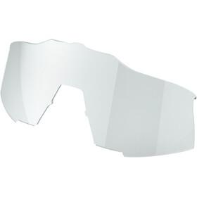 100% Speedcraft Gafas Alta, gris/rojo